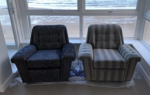 Pair of Art Deco arm chairs